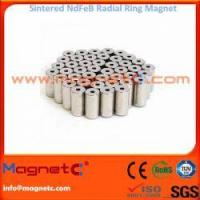 China Permanent Radial Ring Magnets for AC Servo-motors on sale
