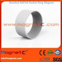 Buy cheap Radial Ring Bonded NdFeB Magnet for Electric Motor from wholesalers