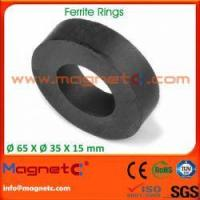 Buy cheap Sintered Ceramic Magnets Ring Shaped product