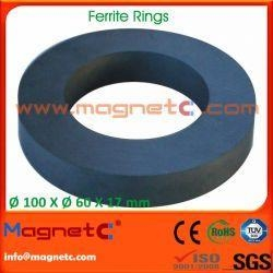 Quality Big Ceramic Ring Magnets for sale
