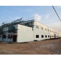 Two Storeys Steel Structure Workshop With Brick Wall