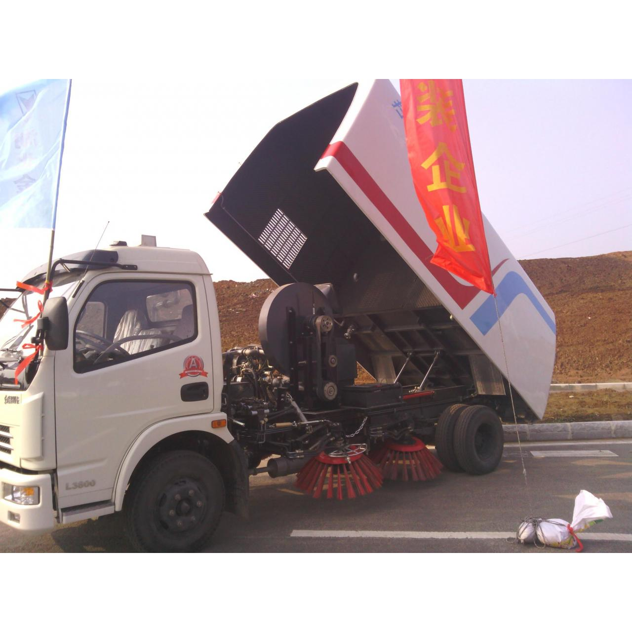 Buy cheap dongfeng XBW road sweeper truck product