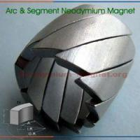 Buy cheap Segment Neodymium Magnet from wholesalers
