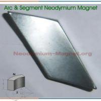 Buy cheap Neodymium Segment Magnet from wholesalers
