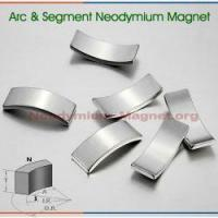 Buy cheap Arc Neodymium Magnet from wholesalers