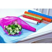 Buy cheap Flower Wrapping Materials organza by the roll Dot Foamed Organza Rolls product