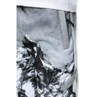 custom moutain sublimation print jogger sweatpants