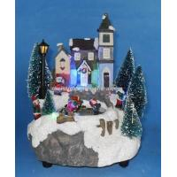 Buy cheap 7 LED Village With Skating Children. from wholesalers