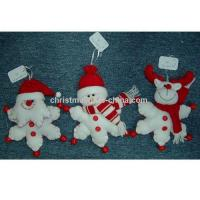 Buy cheap Santa Snowman And Reindeer Hanging product