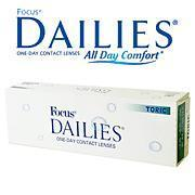 China Daily Disposable Lens Focus Dailies Toric on sale