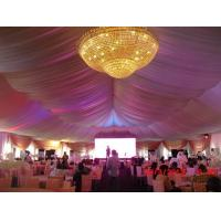 Buy cheap luxury decoration for the party tent from Wholesalers