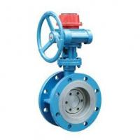 Gear Box Flanged Type Metal Sealing Fire fighting of signal Butterfly Valve