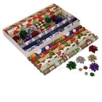 China Gift Wrap Name:Decorative Luxury Xmas gift wrapping paper on sale