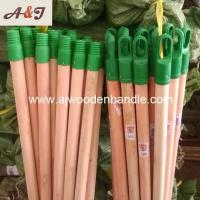 Natural wooden stick with plastic italian screw and long cap