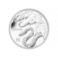 Royal Canadian Mint 2013 $250 Fine Silver Coin - Year of the Snake