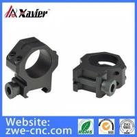 Cnc Milling Parts CNC Machining Gun Scope Mounting Rings, Gun Scope Parts
