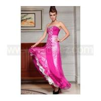 Buy cheap Deep pink A-Line strapless sexy prom dress product
