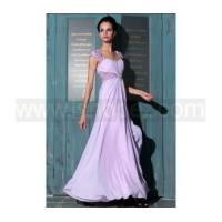 Buy cheap A-line off shoulder purple long quinceanera dress product
