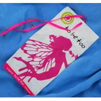 Buy cheap With safety pin colorful hang tag from wholesalers