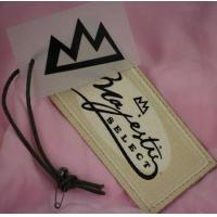 Buy cheap Canvas hang tags from wholesalers
