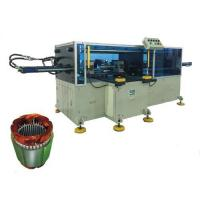Buy cheap Horizontal type Big power long stack length pump stator coil middle forming machine from wholesalers