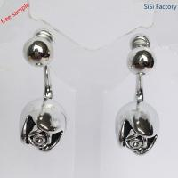 Buy cheap special earring Silve rose shaped earring for lady product