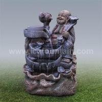 Buy cheap Buddha fountains Buddha grindstone fountains product