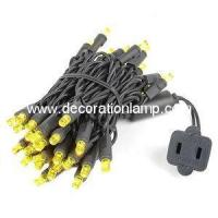 Buy cheap 5mm Yellow led christmas lights from wholesalers