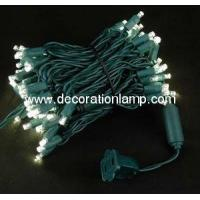 Buy cheap 5MM Warm White Color LED Christmas Lights from wholesalers