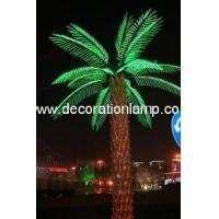 Buy cheap lighted palm trees for outside product