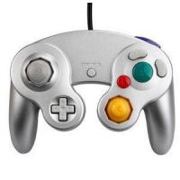For Wii Silver Color Wii/GC controller wii game cube Joypad controller Nintendo Wii game accessory