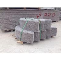 Buy cheap curbstone/kerb stone granite curved curbstone product