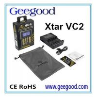 Cheap Xtar VC4 four slot charger for Li-ion NiMh battery charger with LCD Display