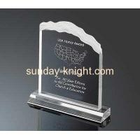 Buy cheap Acrylic awards and trophies factory with good service ATK-007 from Wholesalers