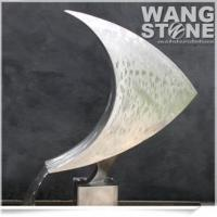Buy cheap Fashion Fish Shape Stainless Steel Fountain Sculpture product