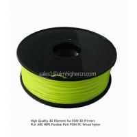 Buy cheap HIPS filament Yellow color 1.75/3.0mm product