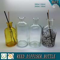 Buy cheap 250ML/200ML/120ML glass reed diffuser bottle product