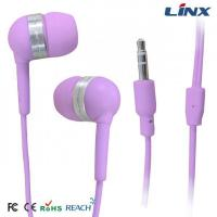Buy cheap Small In-ear earphone with bright color for mobile phone product