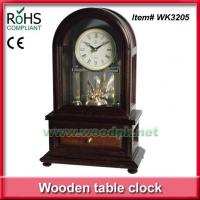 Buy cheap WK3205W2014New style table clock with drawer rotating clock movement product