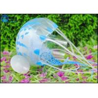 Multi-color Floating Silicone Artificial Jellyfish Decoration For Underwater World