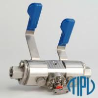Buy cheap General Industrial valve DBB valve from Wholesalers