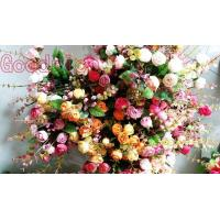 GR-1601 assorted artificial flowers Camellia