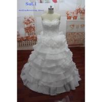 Buy cheap SG65 Wedding Dress Sweetheart Lace Up Beaded Ball Gown Ivory Long Dress Vintage Bridal Gown 2015 product