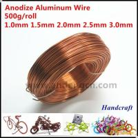 Buy cheap Colored Aluminium Wire, Round, For Handcraft Bicycle, Motorcycle, Animal product