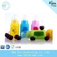 China High temperature resistance borosilicate glass baby bottles on sale