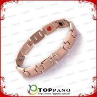 factory price high quality 316L stainless steel bracelet with 4 in 1 energy