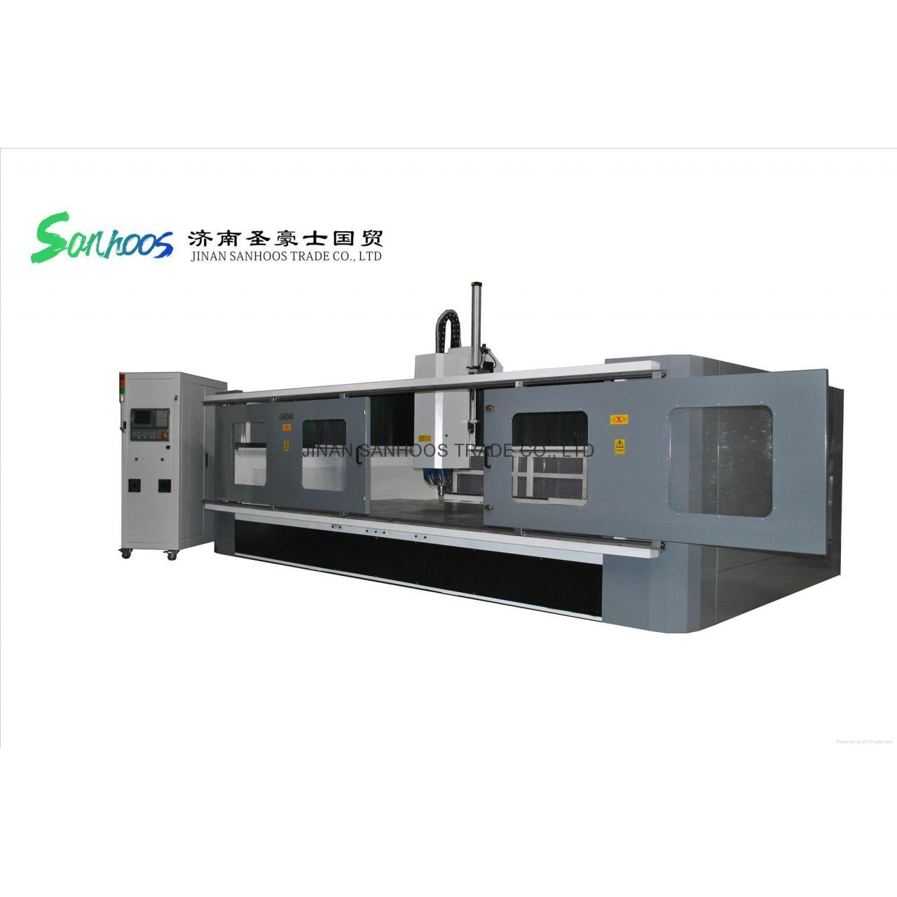 Buy cheap Sam Marble Granite Tools Chaing CNC Router Cutting Machine With ATC product