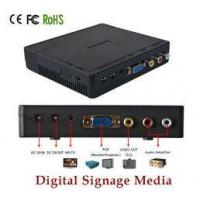 Buy cheap Battery Powered Electronic Advertising Display Screen Media Player TV Box product