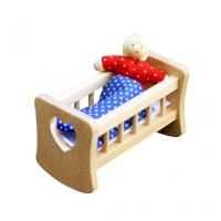 Buy cheap Dollhouses & Accessories Baby Cradle product