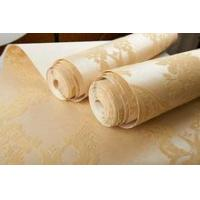 Buy cheap Luxury velvet flocked 3d wallpapers of made in China product